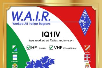 W.A.I.R. - Worked All Italian Regions